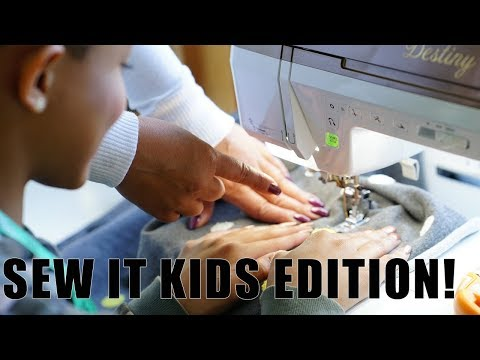 LEARN TO SEW: KIDS EDITION