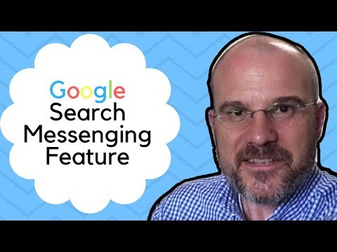 Google Search Messenging Feature