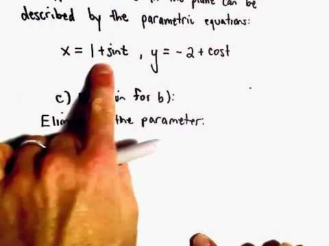 Intro to Parametric Curves, Another Example