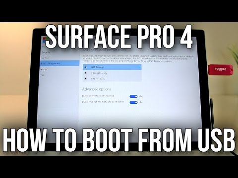how to boot to recovery surface pro 3