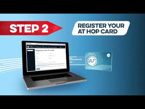 How to load a student concession on your AT HOP card