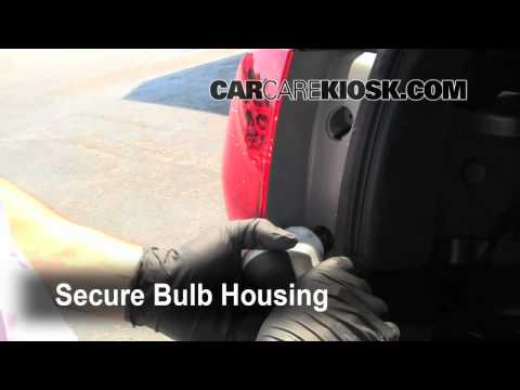How to fix replace headlights in a 2009 Acura MDX