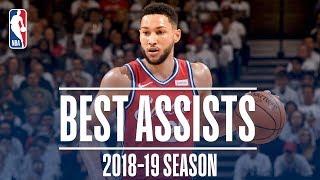 Ben Simmons' Best Assists   2018-19 Season   #NBAAssistWeek