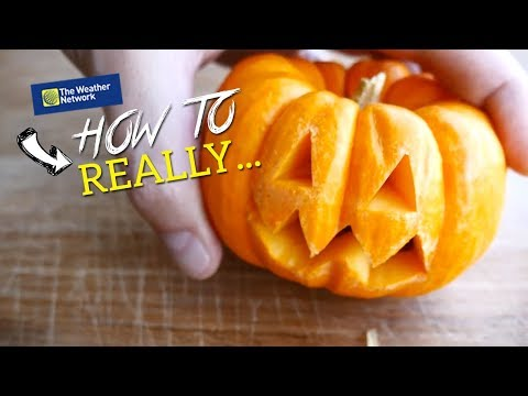 Pumpkin carving secrets: STOP cutting the top off