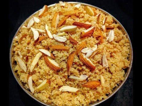 चूरमा प्रसाद बनाने की विधि How to Make Churma Prasad Recipe- YouTube
