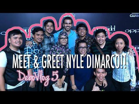 #DEBOVLOG05 - Greet and Meet Nyle Dimarco & Mame ANTM cycle 22