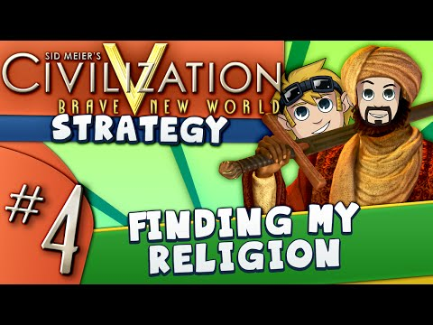 Civ5 Strategy Guide #4: Finding my Religion