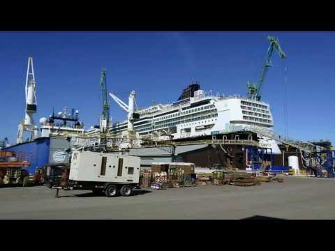 Grand Bahama Shipyard with Carnival Sensation