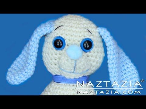 DIY Learn How to Crochet Dog Pup Puppy Doggy Toy Amigurumi Stuffed Animal Pet