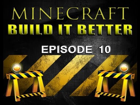 Minecraft Build It Better (EP 10 Minecart Rail Design and Stations)