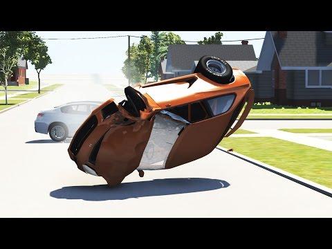 High Speed Insane Crashes #6 - BeamNG.DRIVE •ShowMik