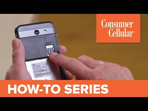 Samsung Galaxy J3: Removing the SIM Card, Battery, & SD Card (8 of 8) | Consumer Cellular