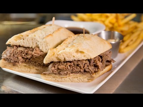 Prime Rib Sandwich - Houston Avenue Bar & Grill