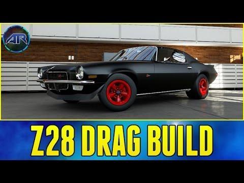 Forza 5 Drag Build : Z28 Camaro Drag Build (Let's Fail)