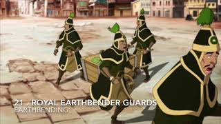 Top Strongest 21 Earth Benders Th Legend Of Aang & Korra