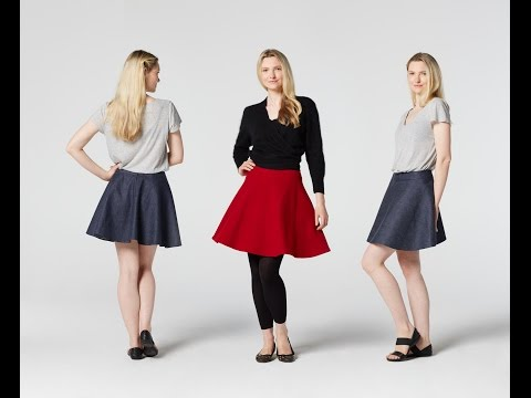 How to Make a Skater Skirt | Teach Me Fashion