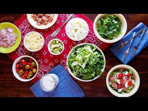 Cobb Salad Bar: Healthy Dinner Idea for Picky Eaters