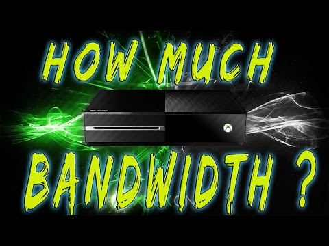 How Much Bandwidth Does An Xbox One Use?
