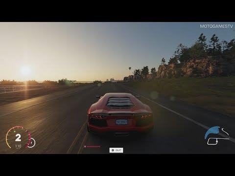 The Crew 2 Beta - Lamborghini Aventador Test Drive [PS4 Pro]