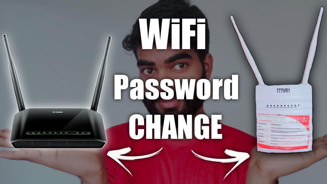 How to Change WiFi password, in Mobile & Computer