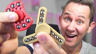 6 Of The Most Unique Fidget Spinners!