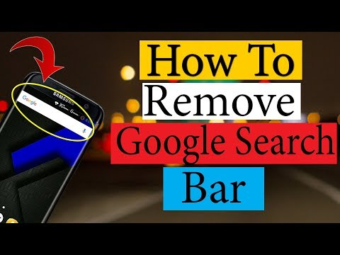 How To Remove Google Search Bar From Home Screen on Any Android Phone (Bangla)