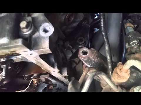 Removing oil pan ls1 transmission still on