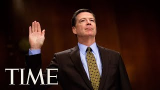 fired fbi director james comeys full testimony before the senate intelligence committee time