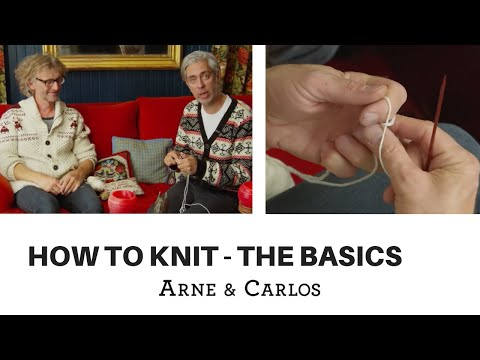 How to knit - Basics of knitting - by ARNE & CARLOS
