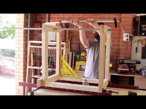 040 - Fliptop woodworking tool cart