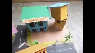 Working Model of Earthquake For Exhibition