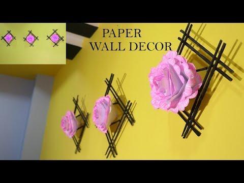 DIY PAPER ROOM DECOR   SUPER EASY ROOMDECOR IDEAS  