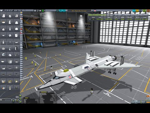 Kerbal Space Program - How to build and fly an SSTO Space Plane
