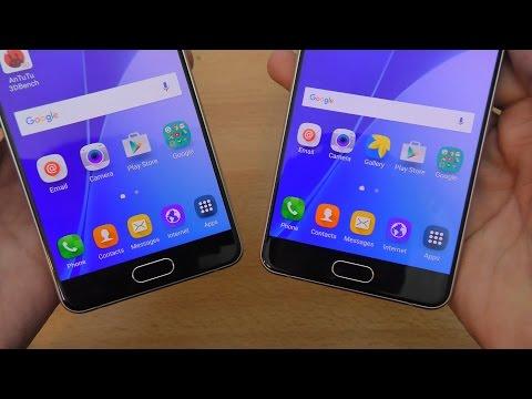 Samsung Galaxy A7 & A5 (2016) How to Setup Fingerprint Sensor (4K)
