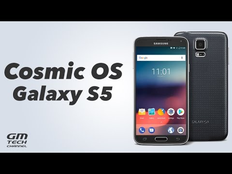 Cosmic OS ROM for Galaxy S5 (Nougat)