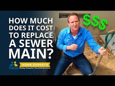 How Much Does it Cost to Replace a Main Sewer Line?