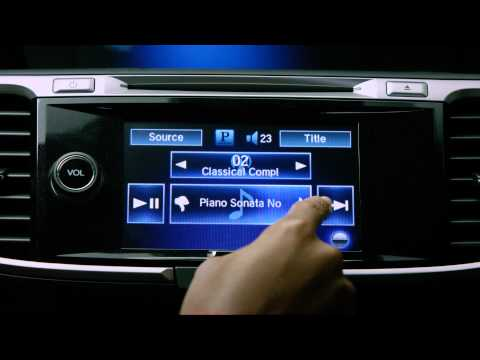 Pandora App in Honda