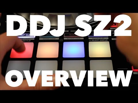 Pioneer DDJ SZ2 Overview - Pitch 'n Time, Pitch Play & Serato Flip Demo