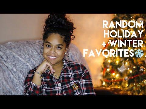 RANDOM HOLIDAY + WINTER FAVORITES | Danielle Renée