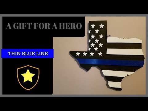 THIN BLUE LINE TRIBUTE