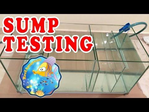 HOW TO: The Best Way to DIY Aquarium Sump Filter | Sump Testing, part 2/2 (120g Reef Tank Setup E3)