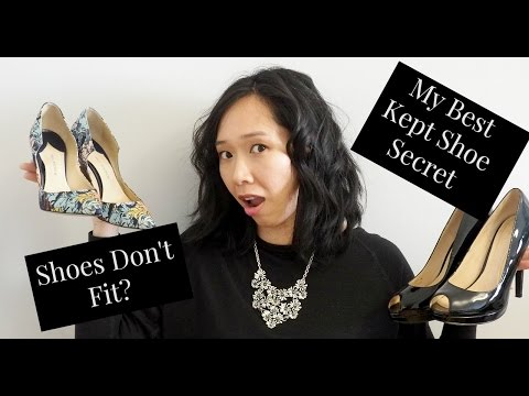 How to: Make your Heels Fit