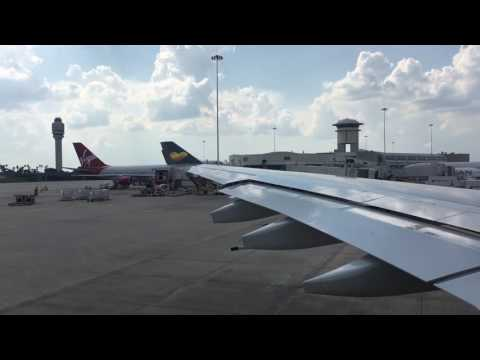 Thomas Cook A330 Economy Class Orlando to Manchester (Full Flight)