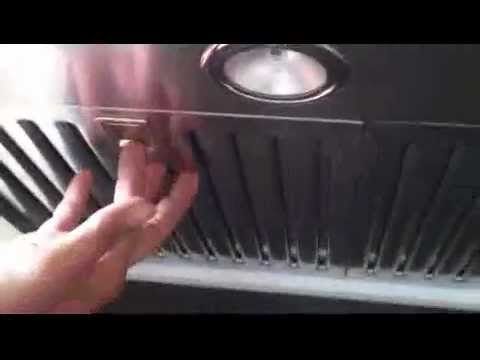 How to clean Baffle Filters