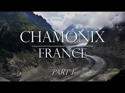 Vacation in Chamonix Part 1:  City, Montenvers Train and Mer De Glace