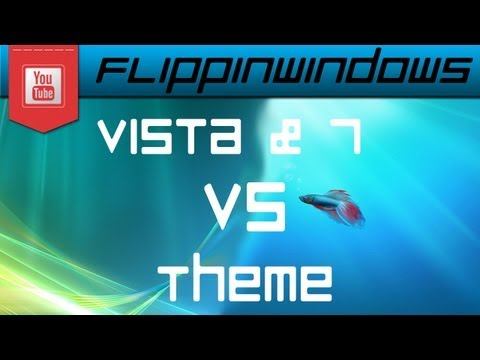 Windows 8 Theme   Vista & 7 Vs.