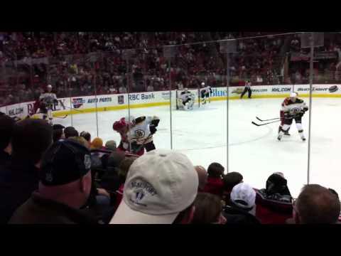 Hurricanes - Bruins 02-2011
