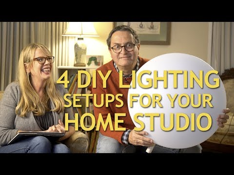 4 DIY Lighting Setups for Your Home Studio