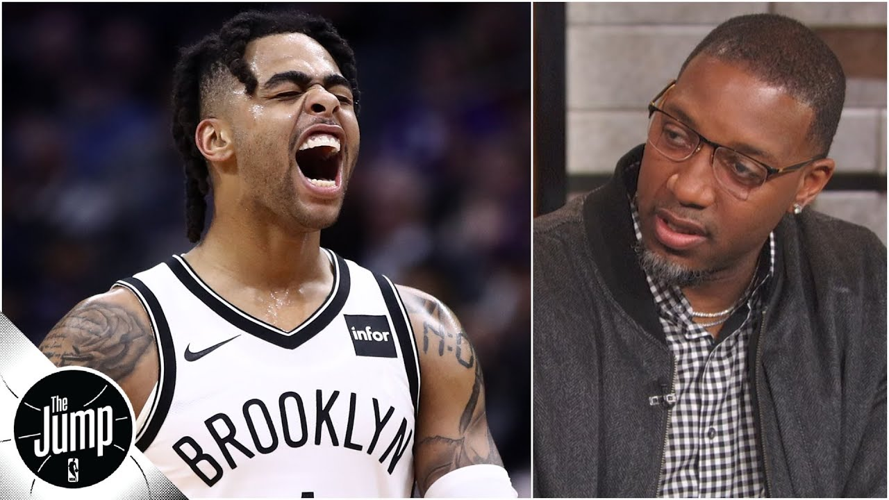 D'Angelo Russell is no longer the 'laughingstock' of the NBA - Tracy McGrady | The Jump