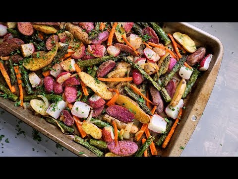 Roasted Spring Vegetables | Meal Prep Side | Episode 154